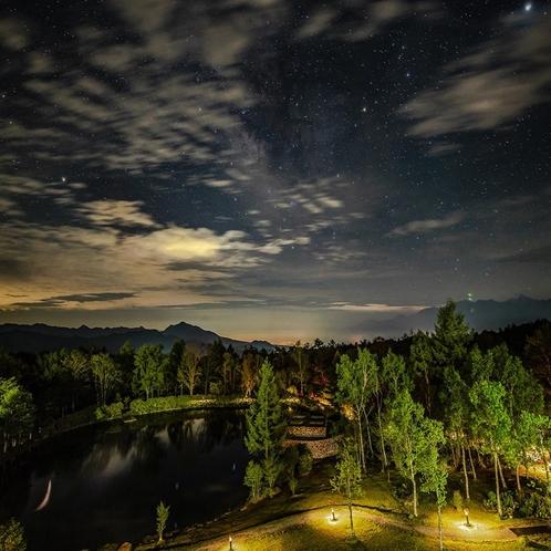 清里高原ホテルで感動の星空体験を