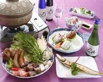 こだわりの地魚料理と絶品海鮮鍋プラン