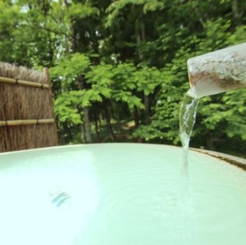 「大町温泉」の源泉かけ流しです♪【貸切風呂】