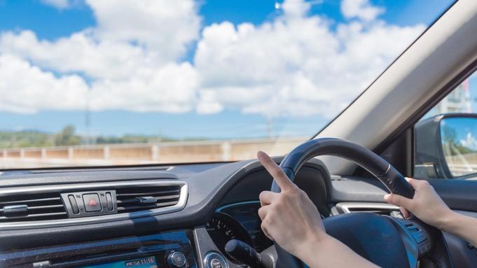 【レンタカー&朝食付】空港受取りもOK!5名乗「コンパクトカークラス」海風心地よいドライブを☆
