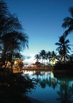 Breezes Night Pool