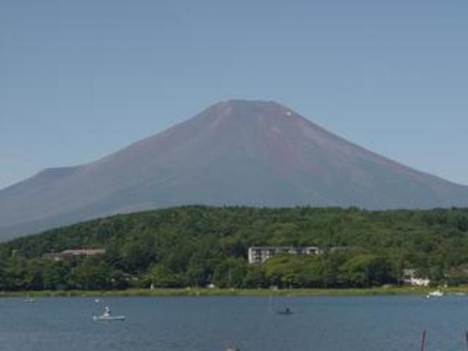 絶景・富士山!宿から徒歩30秒