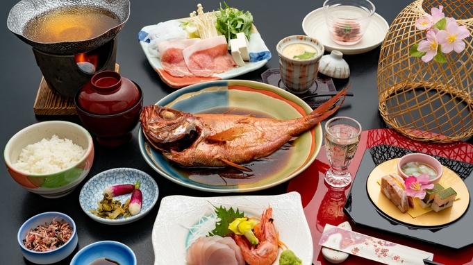 【伊勢海老・鮑・さざえをお造りで】伊豆の鮮魚だからできる豪華お造り8種盛り「幸盛会席」