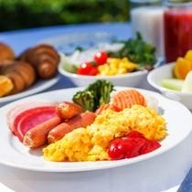 ★和洋朝食ビュッフェ洋食盛付イメージ