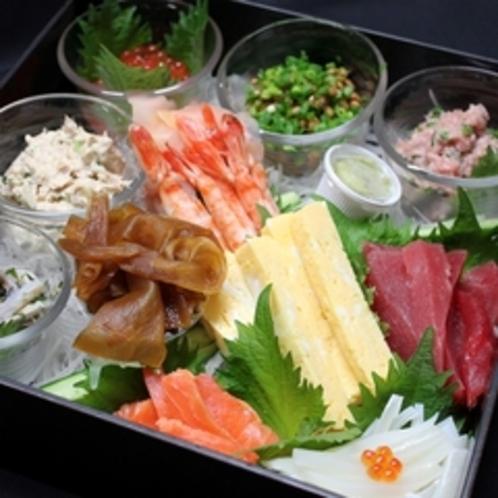 ●部屋食・手巻き寿司(イメージ)