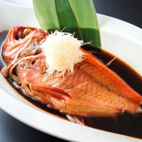 ★別注料理:金目鯛の姿煮