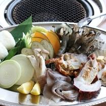 ●海鮮バーベキュー(夏季限定・イメージ)