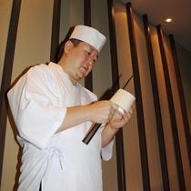 レストラン伊豆美 料理長