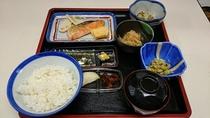 和定食の朝食
