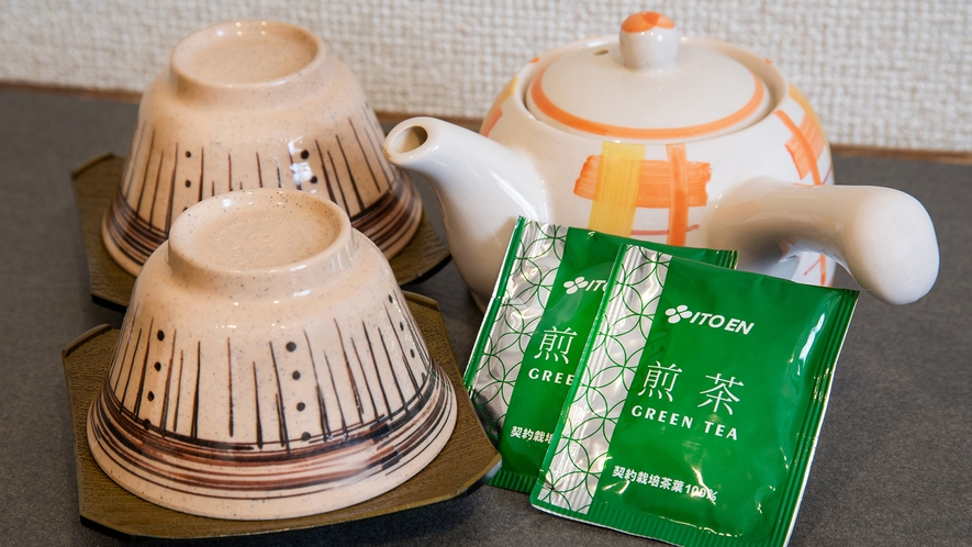 *【客室】お茶セット