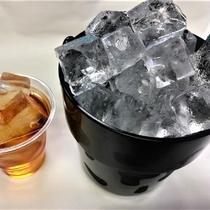 氷はフロントでお渡しできます(無料)