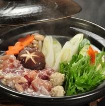 天城軍鶏の塩麹鍋2