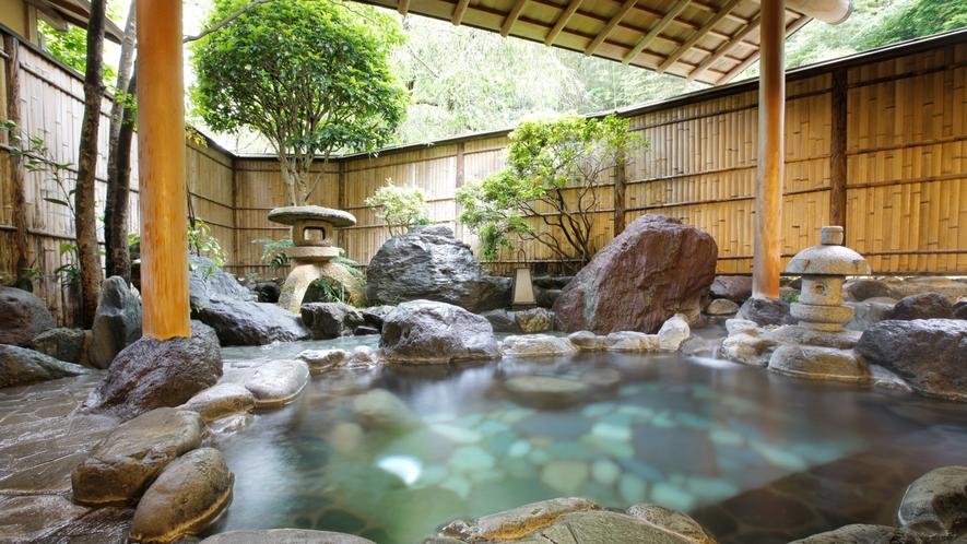 婦人大浴場【千歳の湯】露天風呂