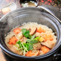 釜炊き御飯(一例)