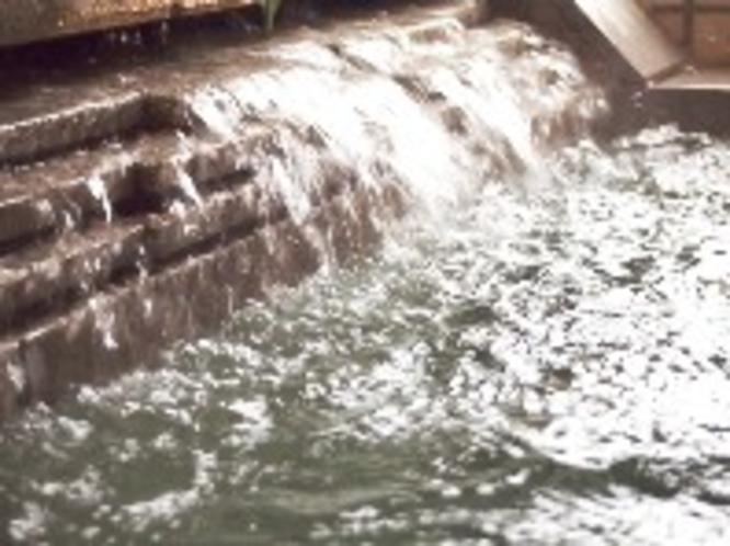 湯口 ジェットバス温泉