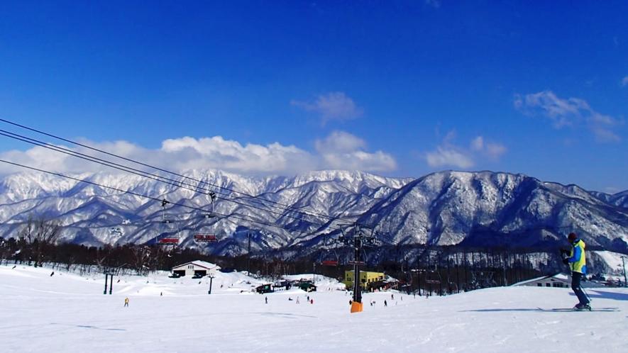 【栂池高原スキー場】徒歩3分の好立地です