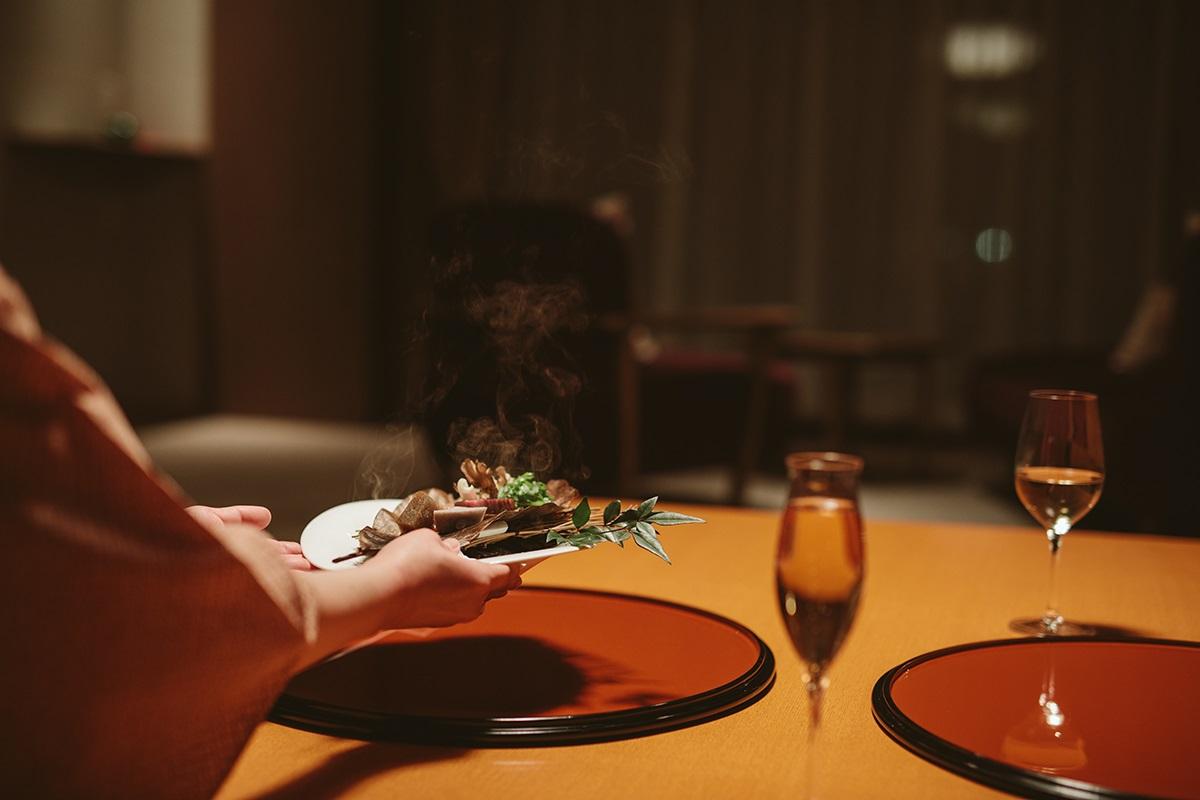 お部屋食もご用意。