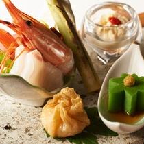 湯波懐石■前菜