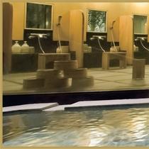 温泉■大浴場古代檜の湯-1