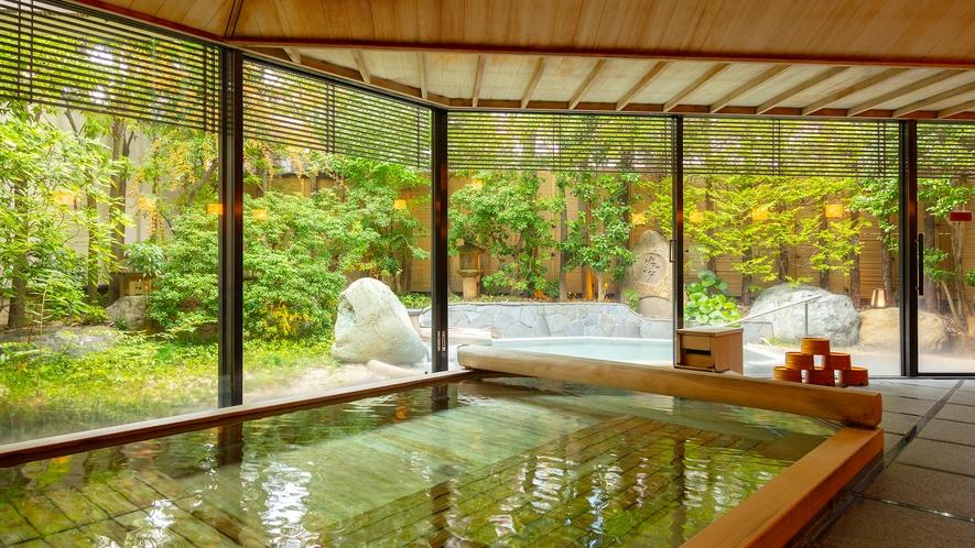 大浴場「古代檜の湯」