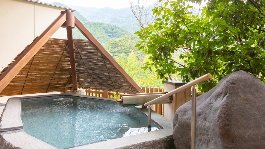 大浴場「四季の湯」露天風呂