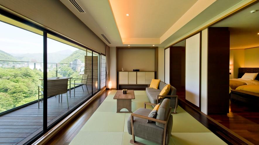 <最上階>洋室(66平米)(※部屋によりレイアウトが変わります。)