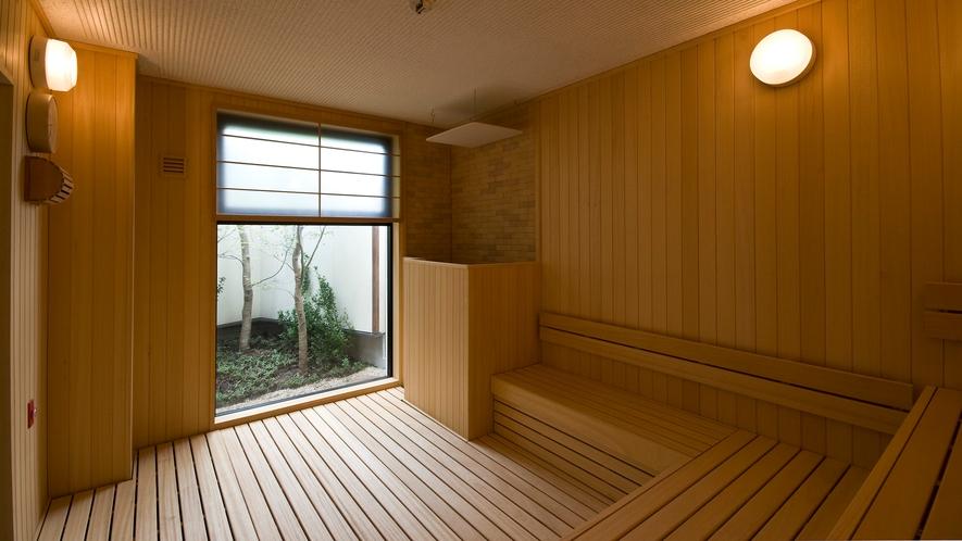 大浴場「古代檜の湯」欧州桐サウナ