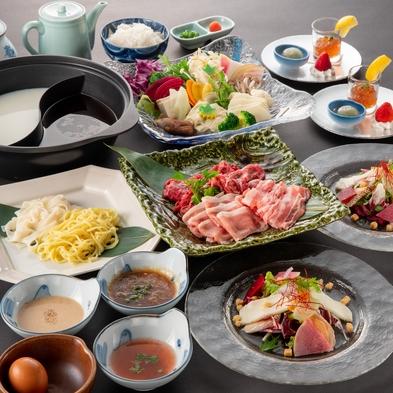 食欲の秋【黒毛和牛しゃぶしゃぶ】贅沢ディナー(夕朝食付き) ※メイン料理以外は食べ放題