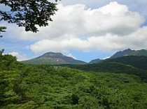 那須平成の森、清森亭からの眺望