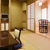 【和室(内風呂付き)/和室8畳+広縁一例】