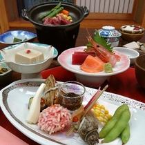 【ご夕食一例】季節の食材をご堪能下さい。