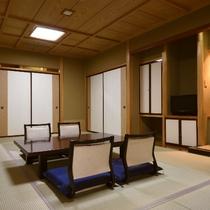 【和室(内風呂付き)/和室10畳~12畳+広縁一例】