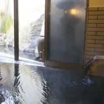 【大浴場/たまゆらの湯】古代総檜風呂でごゆっくり疲れを癒してください。