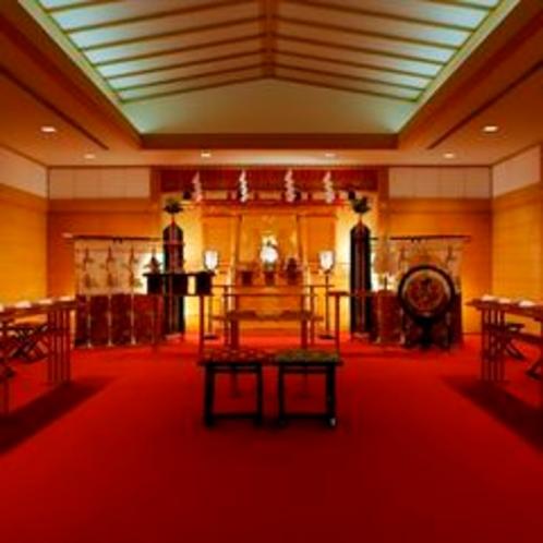 婚礼用 神殿