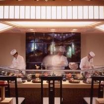「みゆき」寿司カウンター