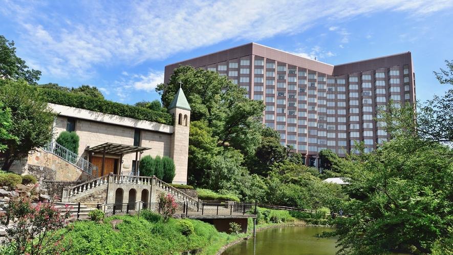 ホテル椿山荘東京外観