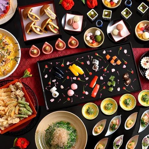 東京雲海 椿ディナーセレクション~早春の椿、技冴える和食~