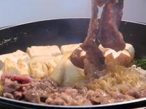 秋田牛すき焼き鍋