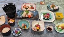 鱈鍋付(冬)の夕食例