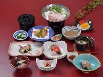 季節の和食膳(夕食例)