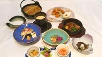 四季の夕食例