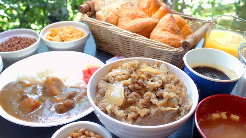 無料朝食 ※当面の間、朝食提供方法の見直しメニューの縮小をさせて頂きます
