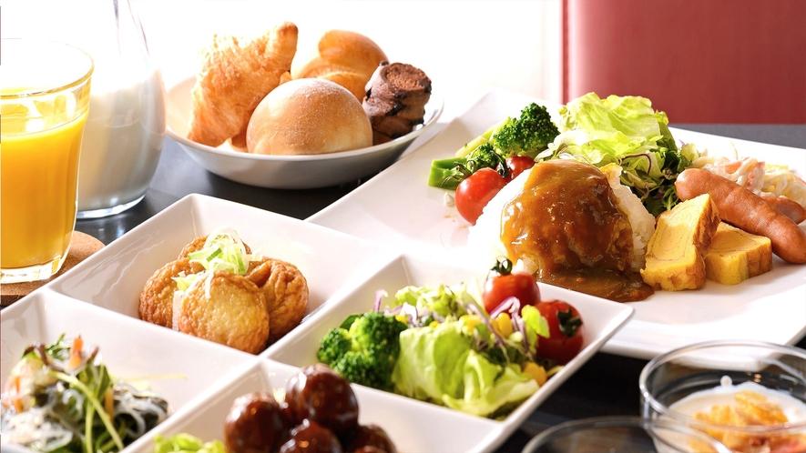 朝食無料サービス6:00~9:00