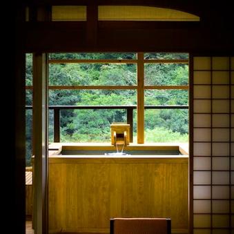 【聚楽第/スタンダード】露天風呂付和室(12+3畳)◆禁煙◆