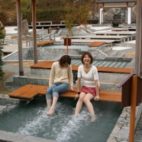 ●日本最大級の足湯「独歩の湯」