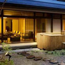 ●【桃山第 露天風呂付和洋室】