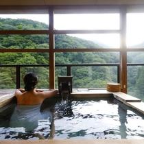 【聚楽第露付12+8】眺めの良い客室露天風呂にてプライベートな湯浴みをお愉しみください