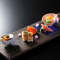 【春の懐石】前菜一例