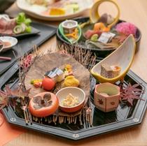 【2019秋の懐石】前菜イメージ