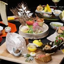 【2018冬の懐石】「クラシカル」冬の風物詩富士山をイメージした「アンコウ鍋」など